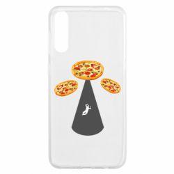 Чохол для Samsung A50 Pizza UFO