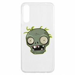 Чохол для Samsung A50 Plants vs zombie head