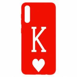 Чохол для Samsung A50 Playing Cards King