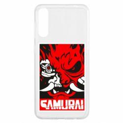 Чохол для Samsung A50 Poster samurai Cyberpunk