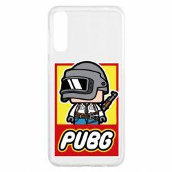Чехол для Samsung A50 PUBG LEGO