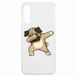 Чохол для Samsung A50 Pug Swag