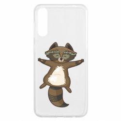 Чохол для Samsung A50 Raccoon