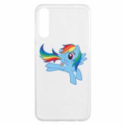 Чохол для Samsung A50 Rainbow Dash run