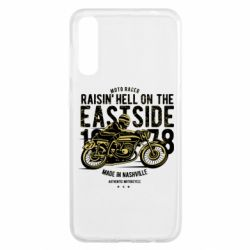 Чохол для Samsung A50 Raisin Hell Moto Racer