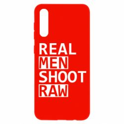 Чохол для Samsung A50 Real Men Shoot RAW