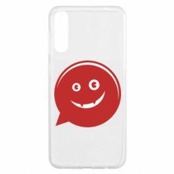 Чехол для Samsung A50 Red smile