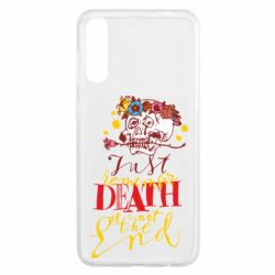 Чохол для Samsung A50 Remember death is not the end