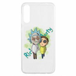 Чохол для Samsung A50 Rick and Morty voodoo doll