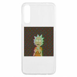 Чохол для Samsung A50 Rick Fck Hologram