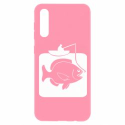Чохол для Samsung A50 Риба на гачку