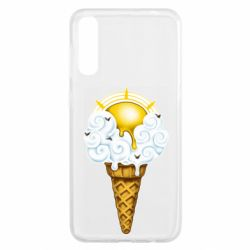 Чохол для Samsung A50 Sea ice cream