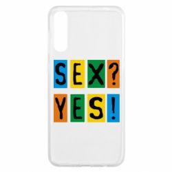 Чехол для Samsung A50 Sex?Yes!