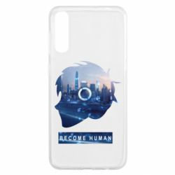 Чохол для Samsung A50 Silhouette City Detroit: Become Human