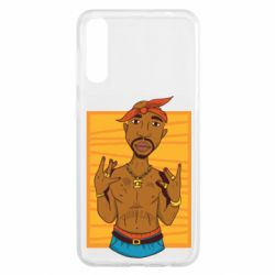 Чохол для Samsung A50 Singer Tupac Shakur