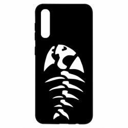 Чохол для Samsung A50 скелет рибки