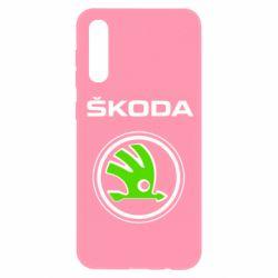 Чехол для Samsung A50 Skoda Bird