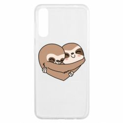 Чохол для Samsung A50 Sloth lovers