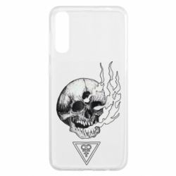 Чохол для Samsung A50 Smoke from the skull