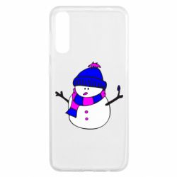 Чохол для Samsung A50 Сніговик