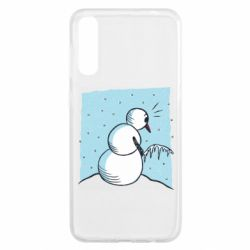 Чохол для Samsung A50 Snowman. It's Cold!