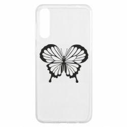 Чохол для Samsung A50 Soft butterfly