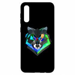 Чохол для Samsung A50 Сolorful wolf