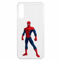 Чохол для Samsung A50 Spiderman in costume