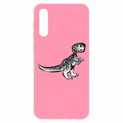 Чохол для Samsung A50 Spotted baby dinosaur
