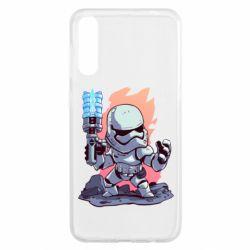 Чохол для Samsung A50 Stormtrooper chibi