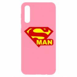 Чехол для Samsung A50 Super Man