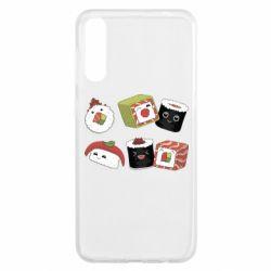 Чохол для Samsung A50 Sushi