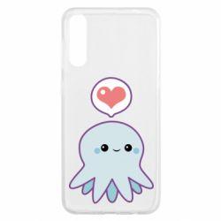 Чехол для Samsung A50 Sweet Octopus