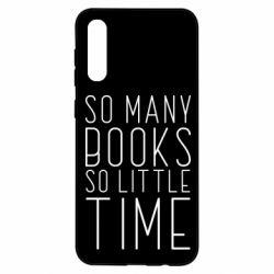 Чохол для Samsung A50 Так багато книг так мало часу