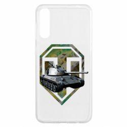 Чехол для Samsung A50 Tank and WOT game logo