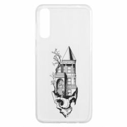 Чохол для Samsung A50 The castle is on the skull