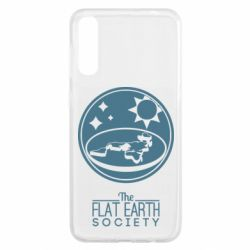 Чохол для Samsung A50 The flat earth society