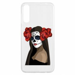 Чохол для Samsung A50 The girl in the image of the day of the dead