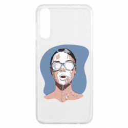 Чохол для Samsung A50 The girl is doused with milk