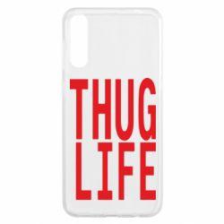 Чохол для Samsung A50 thug life