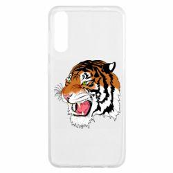 Чохол для Samsung A50 Tiger roars