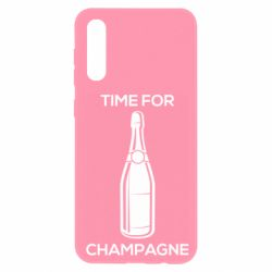 Чохол для Samsung A50 Time for champagne