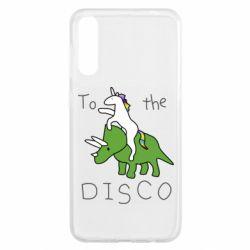 Чохол для Samsung A50 To the disco