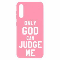 Чохол для Samsung A50 Тільки Бог може судити мене