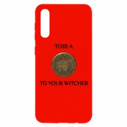 Чохол для Samsung A50 Toss a coin to your witcher ( орен )