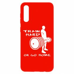 Чохол для Samsung A50 Train Hard or Go Home