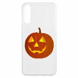 Чохол для Samsung A50 Тыква Halloween