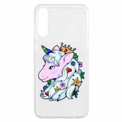 Чохол для Samsung A50 Unicorn Princess