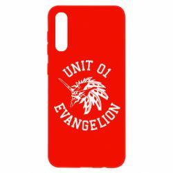 Чохол для Samsung A50 Unit 01 evangelion