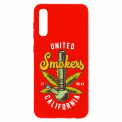 Чохол для Samsung A50 United smokers st relax California